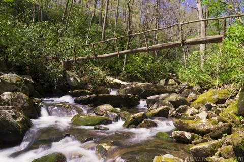 Bridge to Ramsey Falls