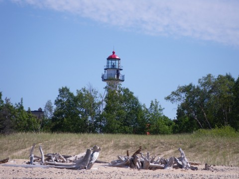 Lighthouse at Whitefish Point