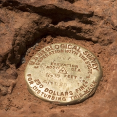 Observation Point Geographic Survey Marker
