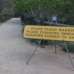 Narrows Sign