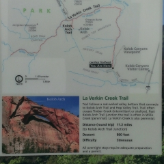 Kolob Canyon Map