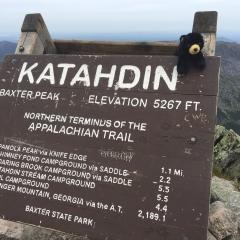 Katahdin Sign