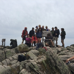 Through Hike Finishers