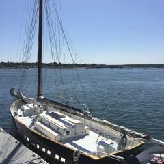 Boat on a Wharf