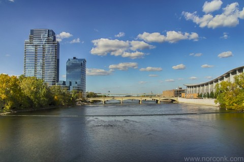 Grand River in Grand Rapids