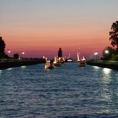 Venetian Festival Boats