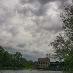 Upper Thornapple Dam