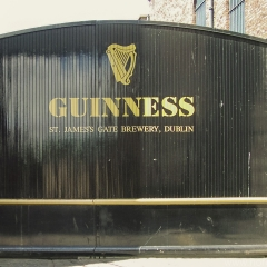 Guiness Brewery in Dublin