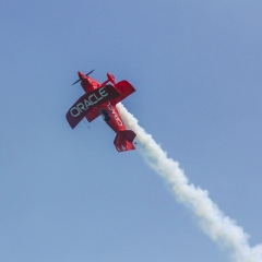 Oracle Stunt Plane