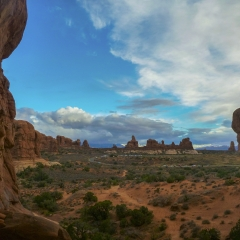 Double Arch View