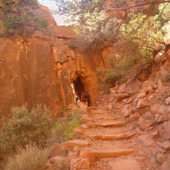 Grand Canyon Trail Tunnel