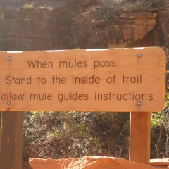 Grand Canyon Trail Notice