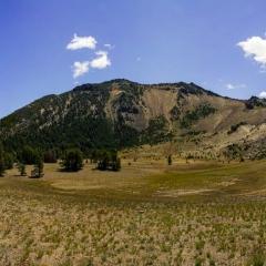 View Up Mt. Scott