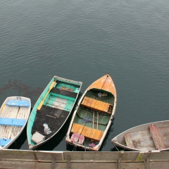 Colorful Dinghies