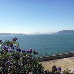 Golden Gate from Alcatraz