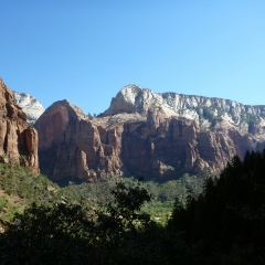 View from Emerald Pools