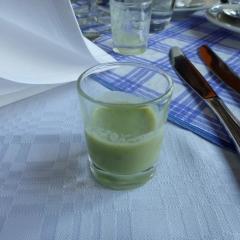 Cucumber shot