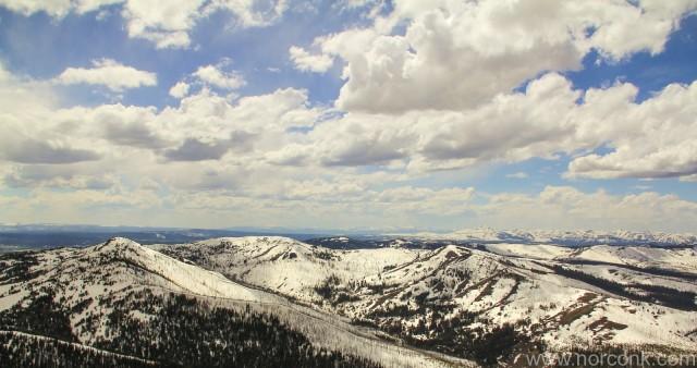 Mt. Washburn View