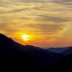 Smoky Mountain Sunset