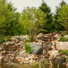 Radiology Garden Fountain