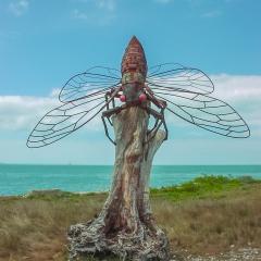Cicada Sculpture