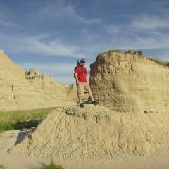 Badlands Butte