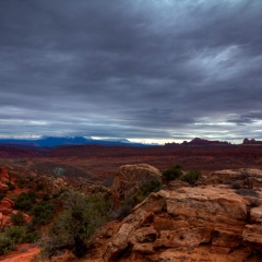 Mountains from Fiery Furnace
